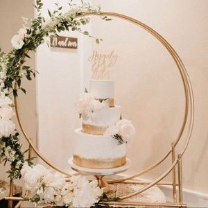 Other - Wedding cake stand arch hoop custom made - Gold